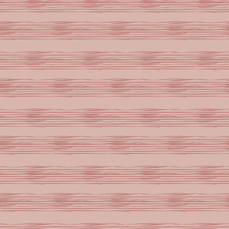 Horizontal striped hand drawn seamless vector pattern. Abstract lines surface print design for decorating backgrouds, cards, stationery, packaging, textiles. Great for basic coordinates and texturing. Illustration