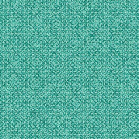 Seamless vector pattern texture inspired by swimming pool tiles under water. Teal and aqua surface print design for backgrounds, fabrics, stationery, wellness, wellbeing, spa, and cosmetics packaging.  イラスト・ベクター素材