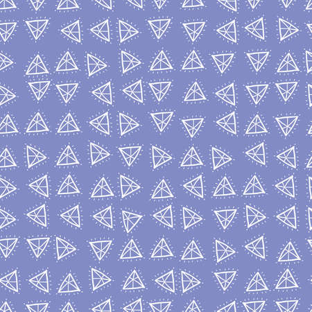 Doodle gemstones seamless vector pattern. Simple surface print design for fabrics, stationery, scrapbook paper, gift wrap, and packaging.