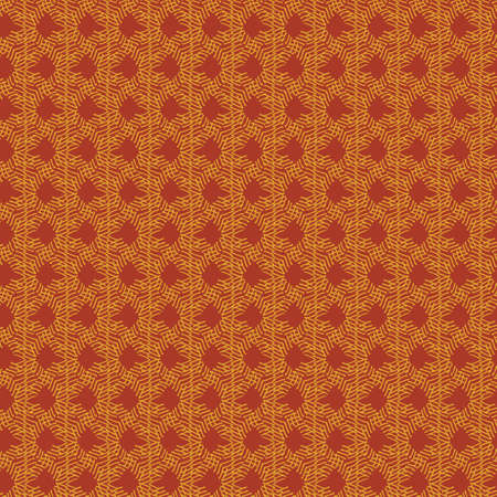 Rusty colored abstract seamless vector pattern. Surface pritn design for fabrics, textiles, stationery, scrapbook paper, gift wrap, home decor, wallpaper, gift wrap, and packaging.