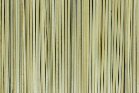 Background of natural bamboo skewers which are used for cooking 写真素材 - 123958131