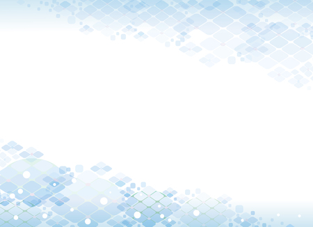 Background of hydrangeas