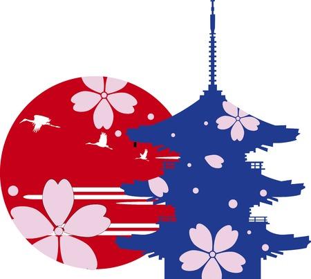 Image of sightseeing trip in Japan