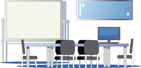 conference room  イラスト・ベクター素材