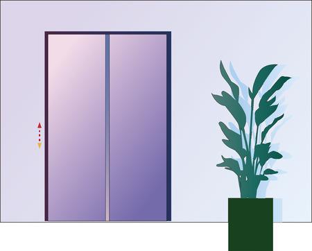Elevator illustration