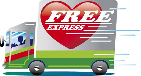 Free Express Ilustração