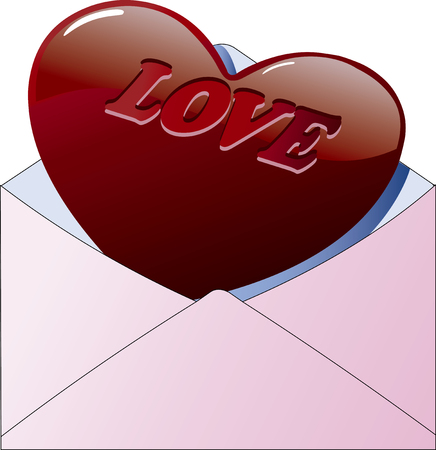 Valentines chocolate  イラスト・ベクター素材