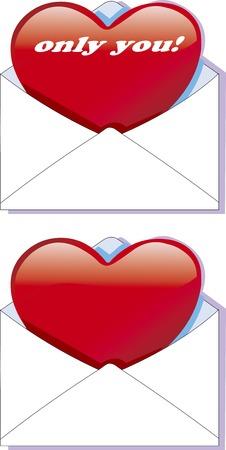 Love letter 写真素材 - 106989887