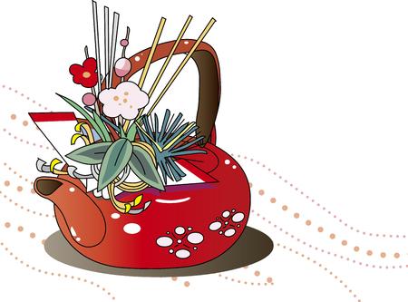Japanese lacquerware 向量圖像