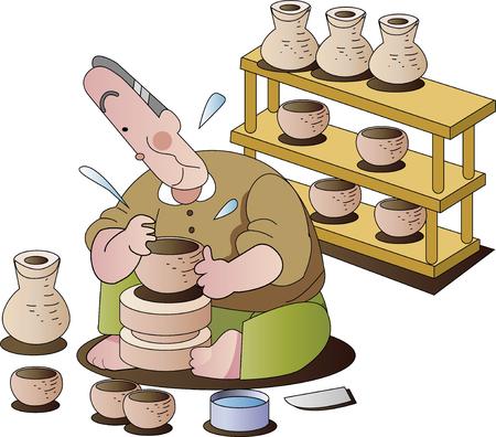 Hobby pottery production