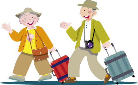 Travel and suitcase