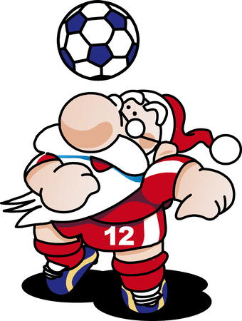 Football Santa