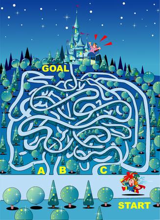 Maze Present for princess
