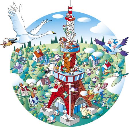 City of wild birds