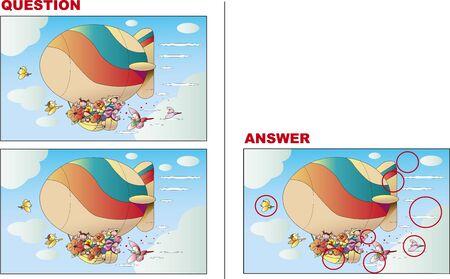 Mistake Finding Quiz, Flower Airship