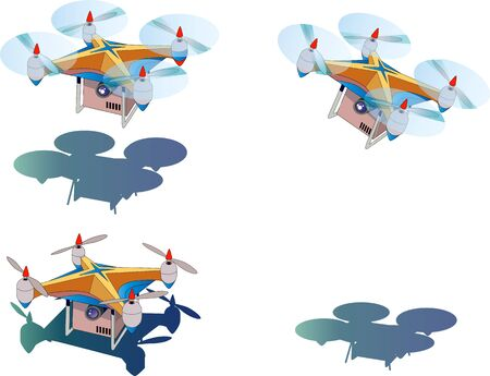 The future where drones begin unmanned home delivery