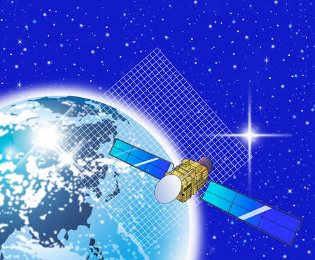 Satellite Internet with global coverage