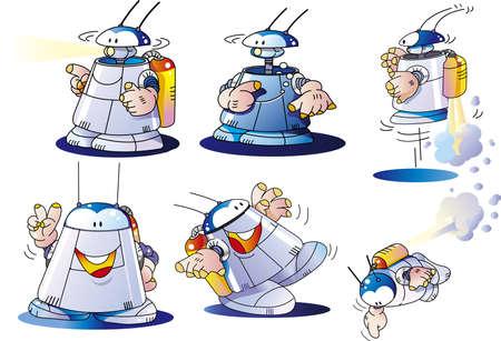Robot 6 Poses, 202