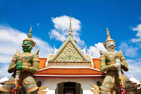 Wat Arun in day light of Bangkok, Thailand
