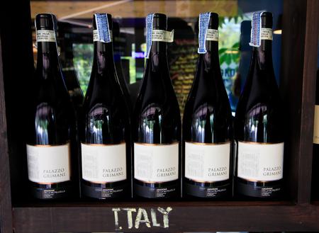 wine stocks: Italian wine show in bottle