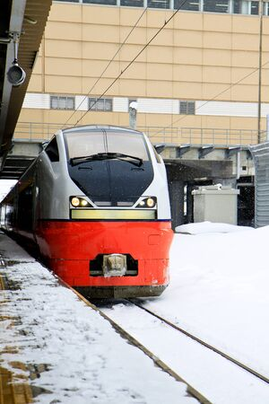 railway transportation: Public railway transportation business in winter season Editorial