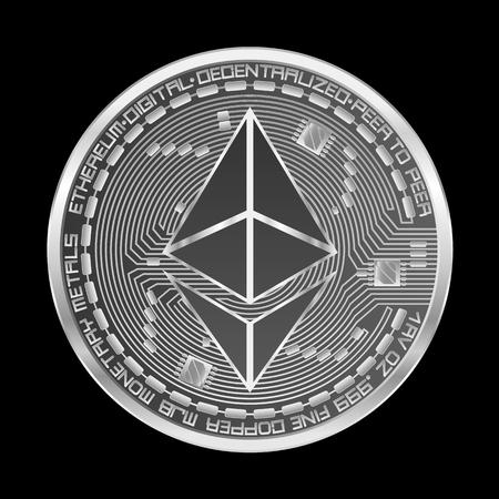 Silver coin icon.