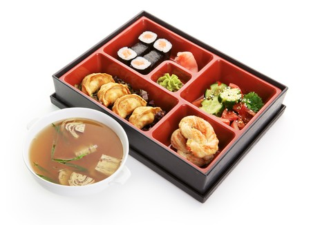 Japanese Bento Lunch photo