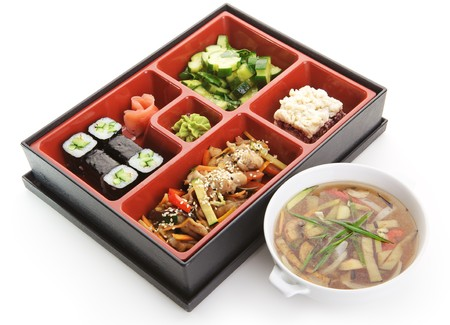 Japanese Bento Lunch Stock Photo - 7273803