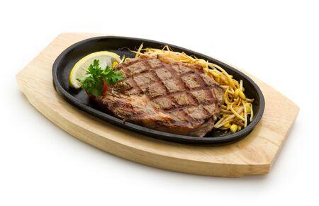 Grill� Foods - steak de b?uf du premier avec le soja