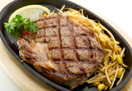 Grilled Foods - Prime Beef Steak with Soybean photo