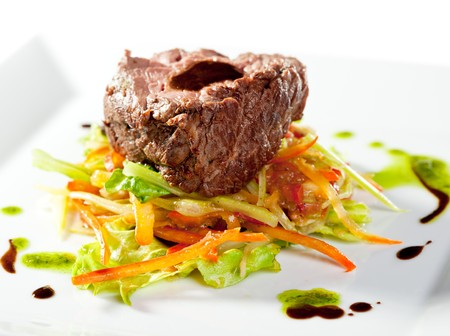 Fillet of Veal with Vegetables photo