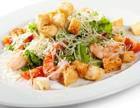 seafood salad: Caesar Salad