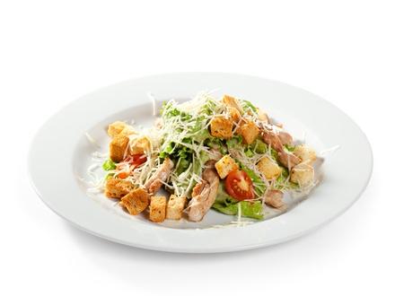 CHICKEN CAESAR SALAD: Caesar Salad