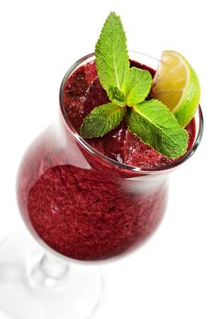 Berries Smoothie Stock Photo