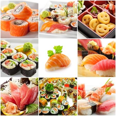 japonais: Japanese Food Banque d'images