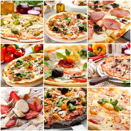 정크 푸드: 피자
