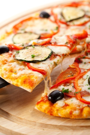 Vegetarian Pizza photo