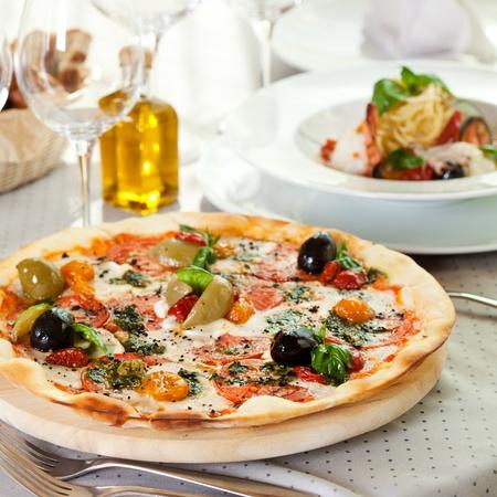 Pizza Dinner Stock Photo - 12466573