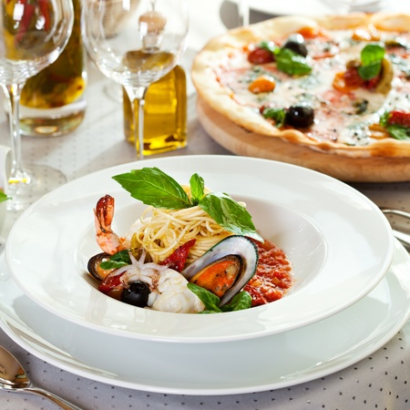 Seafood Spaghetti photo