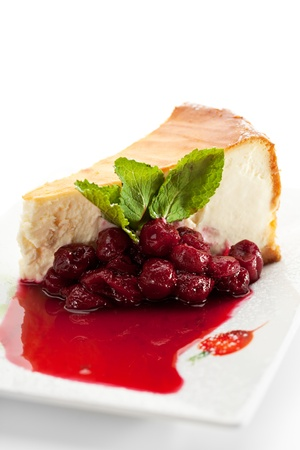 Dessert - Cheesecake Stock Photo - 12466559
