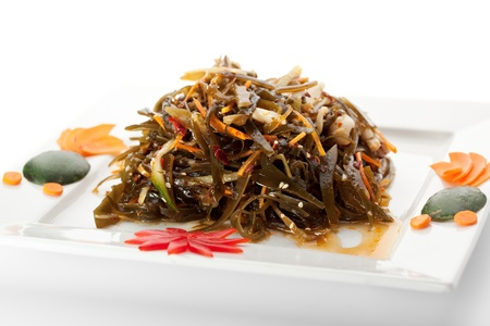 algas marinas: Cocina China - Seaweed Salad