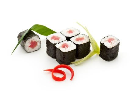 Maguro Maki Sushi - Roll with Fresh Tuna photo