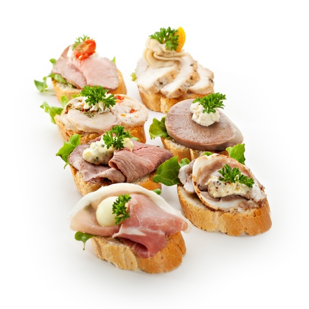 canapes: Meat Canapes