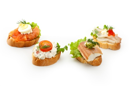 Fish Canapes photo