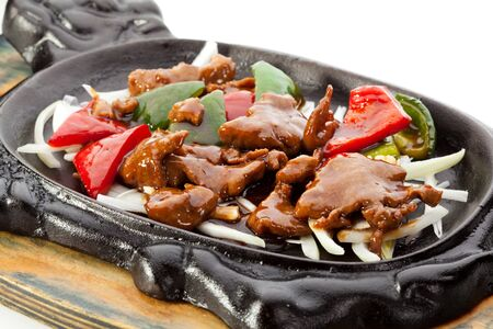 Fried Beef with Vegetables photo