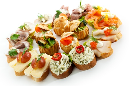 buffet dinner: Canapes