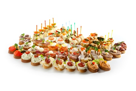finger food: Canapes