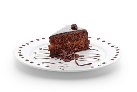 chocolate slice: Dessert - Chocolate Cake