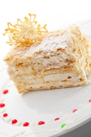 custard slices: Vanilla and Custard Cake
