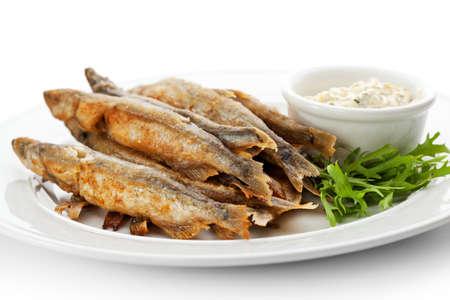 stir fried: Stir Fried Fish with Tartar Sauce